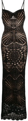 DSQUARED2 long knitted dress