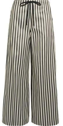 McQ (マックキュー) - Mcq Alexander Mcqueen Striped Twill Wide-Leg Pants