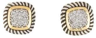 David Yurman Diamond Albion Stud Earrings