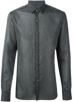 Lanvin striped pattern classic shirt