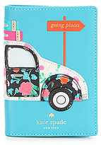 Kate Spade Scenic Route Collection Car Applique Passport Holder