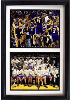 Los Angeles Lakers Double Custom Frame