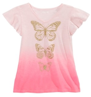 Epic Threads Big Girls Ombre Butterfly T-Shirt, Created for Macy's