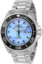 Invicta Mens Silver Tone Bracelet Watch-23067