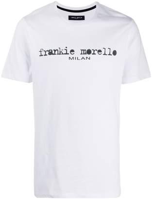 Frankie Morello logo print T-shirt