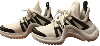 Louis Vuitton Archlight White Leather Trainers
