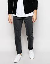 Asos Slim Jeans With Vintage Wash