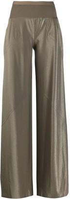Rick Owens Lilies Stretch Fit Bias Cut Pants