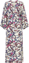 Elizabeth and James Howe Printed Kimono Dress