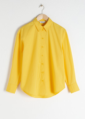And other stories Cotton Button Up Shirt