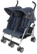 Maclaren Twin Triumph Double Stroller in Denim