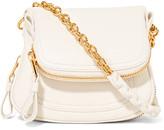 Tom Ford Jennifer Mini Leather Shoulder Bag - Off-white