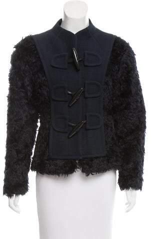 Marc Jacobs Faux Fur Jacket w/ Tags