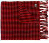 Ami Alexandre Mattiussi houndstooth scarf - men - Virgin Wool - One Size