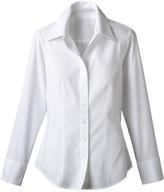Coldwater Creek Two collar no-iron shirt