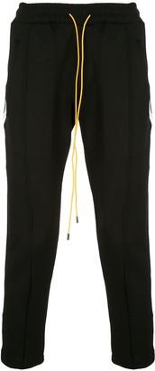 Rhude Side-Stripe Cropped Trousers