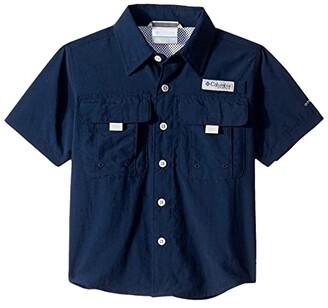 Columbia Kids Bahama Short Sleeve Shirt (Little Kid/Big Kids) (Gulf Stream) Boy's Short Sleeve Button Up