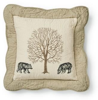 "Donna Sharp Bear Creek ""Bears"" Decorative Pillow"