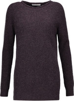Autumn Cashmere Ribbed-knit cashmere sweater