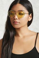 Forever 21 FOREVER 21+ Tinted Aviator Sunglasses