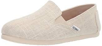 Toms Women's Redondo Loafer Flat metallic slubby woven 8 B Medium US