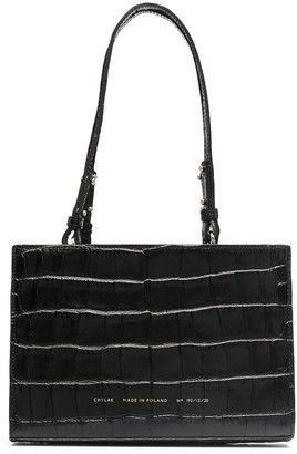 CHYLAK Crocodile Embossed Tote Bag