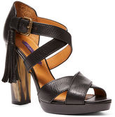 Ralph Lauren Geena Vachetta Leather Sandal