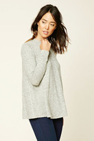 Forever 21 FOREVER 21+ Marled Knit Sweater