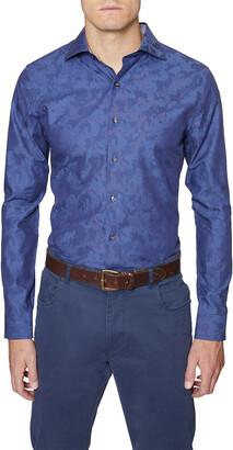 Hickey Freeman Jacquard Shirt