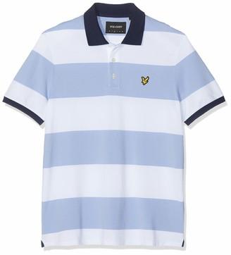 Lyle & Scott Mens Wide Stripe Polo Shirt - XS