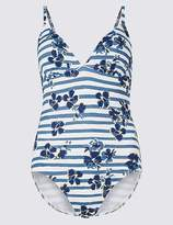 Marks and Spencer Secret SlimmingTM Padded Printed Swimsuit