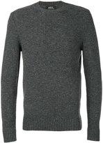 A.P.C. classic crew neck jumper - men - Wool - S