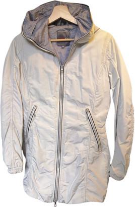 Duvetica White Polyester Coats