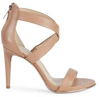 Kenneth Cole New York Brooke Criss-Cross Leather d'Orsay High-Heel Sandals