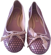 Marc Jacobs Pink Patent leather Ballet flats