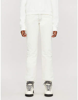 Levi's Levis Made & Crafted 501 Embroidered Denim Jeans
