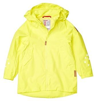 reima Reimatec Jacket Galtby (Toddler/Little Kids/Big Kids) (Lemon Yellow) Girl's Clothing