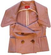 Vivienne Westwood Pink Cotton Top for Women Vintage