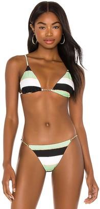 Vix Paula Hermanny Chain Tri Bikini Top