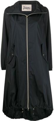 Herno Funnel-Neck Oversized Parka Coat