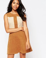 Love Suede Color Shift Dress