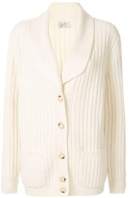 Giuliva Heritage Collection The Clio Husband ribbed cardigan