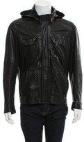 Yigal Azrouel Leather Zip-Up Jacket
