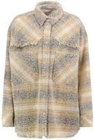 IRO Wool-Blend Bouclé Shirt