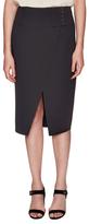 Derek Lam 10 Crosby Split Hem Button Embellished Pencil Skirt