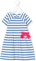 Petit Bateau striped bow dress - kids - Cotton - 3 mth