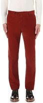 Gieves & Hawkes Gieves & Hawkes Slim-fit Corduroy Trousers