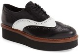 Tod's Women's 'Lightsole' Creeper Wingtip Oxford