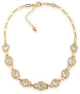 Carolee Columbus Circle Goldtone Choker Necklace