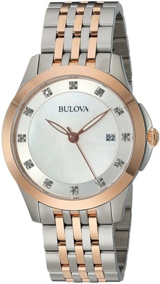 Bulova Women's Analog-Quartz Watch with Stainless-Steel Strap